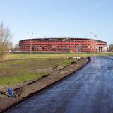 Stade de football d'az Alkmaar en Hollandes photographie stock