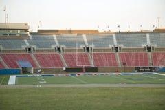 Stade de football dans SMU Dallas TX image stock