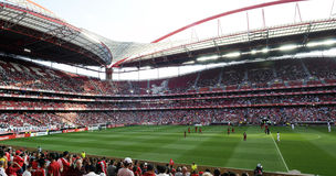 Stade de football de Benfica Images libres de droits