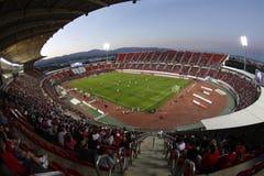 Stade de football de Majorque Photos stock