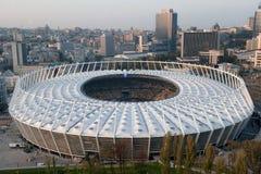 Stade de football de NSC Olimpiyskiy - Kiev photographie stock libre de droits