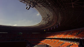 Stade de football de Shakhtar neuf à Donetsk, Ukraine Photo stock