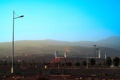 Stade de football moderne d'Agadir Adrar image libre de droits