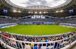 Stade de football de Samara Arena Images stock