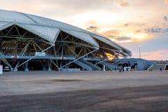 Stade de football de Samara Arena Images libres de droits