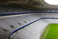 Stade de football vide Image stock