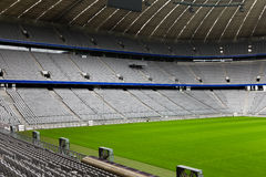 Stade de football vide Photo libre de droits