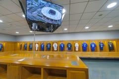 Stade de France stadium. The dressing room at the main stadium in France - Stade de France Stock Images
