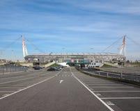 Stade de Juventus à Turin Photographie stock libre de droits