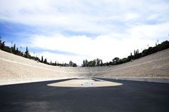 Stade de Kalimarmaro photo stock