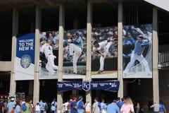 Stade de Kauffman - Kansas City Royals photographie stock libre de droits