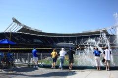 Stade de Kauffman - Kansas City Royals Images stock