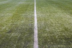 Stade de l'équipe de football de ville photographie stock libre de droits