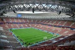 Stade de Luzhniki à Moscou image stock