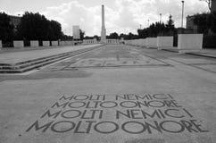 Stade de marbre - Foro Italico photographie stock