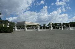 Stade de marbre - Foro Italico Photos libres de droits