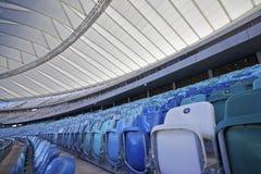 Stade de Moïse Mabhida, le football de la FIFA. Région de montage Photographie stock