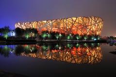 Stade de national de Pékin Photos libres de droits