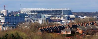 Stade de Newcastle photo libre de droits