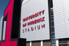 stade de nfl du football de cardinaux de l'Arizona Photographie stock