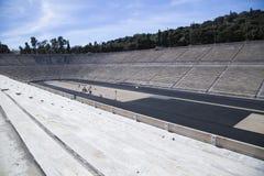Stade de Panathenaic à Athènes images stock