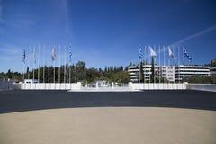 Stade de Panathenaic à Athènes photos libres de droits