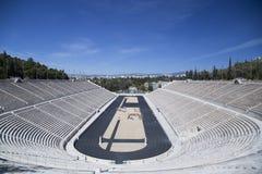 Stade de Panathenaic à Athènes image libre de droits