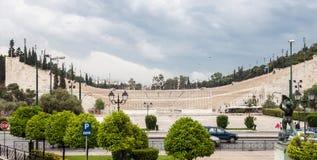 Stade de Panathinaiko à Athènes Photo libre de droits