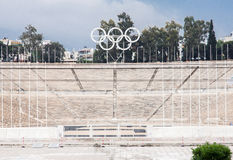 Stade de Panathinaiko à Athènes Image stock