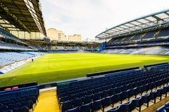 Stade de passerelle de Chelsea FC Stamford Photos stock