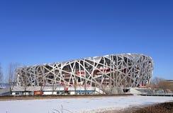 Stade de ressortissant de Pékin Image libre de droits