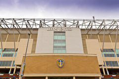 Stade de route d'Elland à Leeds, West Yorkshire Images stock