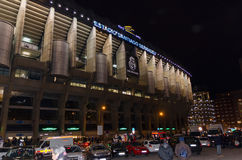 Stade de Santiago Bernabeu Photos stock
