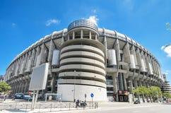 Stade de Santiago Bernabeu de club du football de Real Madrid photos libres de droits