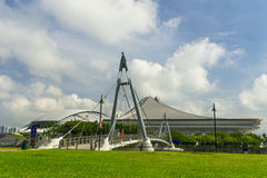 Stade de Singapour Photo stock
