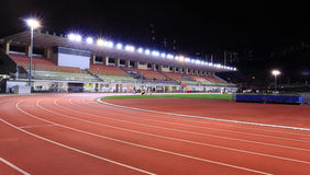 Stade de sport Photo stock