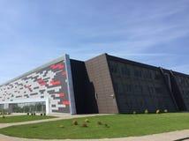 Stade de sport moderne dans Koszalin Pologne photographie stock libre de droits