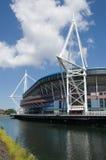 Stade de stationnement de bras, Cardiff Photo libre de droits