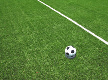 Stade de terrain de football du football Photos stock