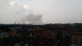Stade de Turin Olimpico AUCUNE GUERRES Photographie stock libre de droits