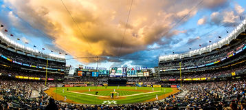 Stade de yankees Images stock