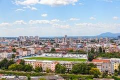 Stade de Zagreb de club du football Photo stock