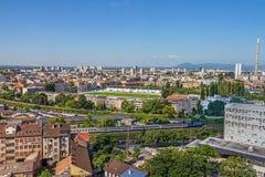 Stade de Zagreb de club du football Images libres de droits