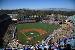Stade des Dodgers - Los Angeles Dodgers photo stock