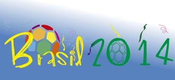 Stade 2014 du Brésil Image libre de droits