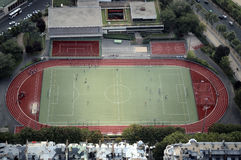 Stade Emile Anthoine, Paris, France Image libre de droits