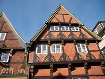 Stade,Germany. Impressive facade of building in Stade ,Germany Royalty Free Stock Photo
