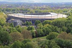 Stade Hannovre d'ar?ne photo stock