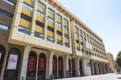 Stade Louis II stadium in Monaco Stock Photos