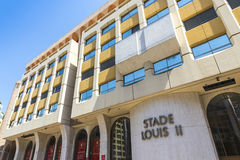 Stade Louis II stadium in Monaco Stock Image